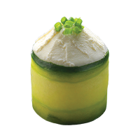 Sushi Cucumber cheese tulip