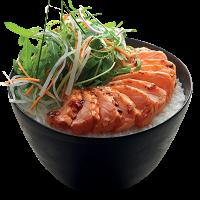 Salmon Donburi