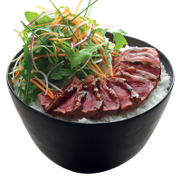 Black Angus Beef Donburi