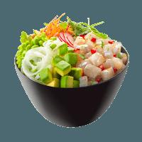 Seabream Poke Bowl